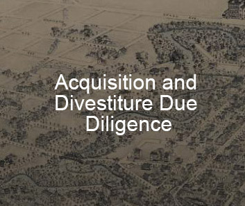 Acquisition and Divestiture Due Diligence